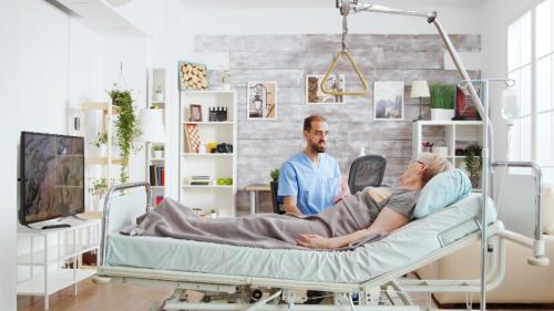 Le lit médicalisé pour le maintien à domicile