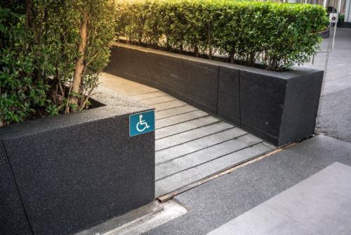 Les rampes d'accès